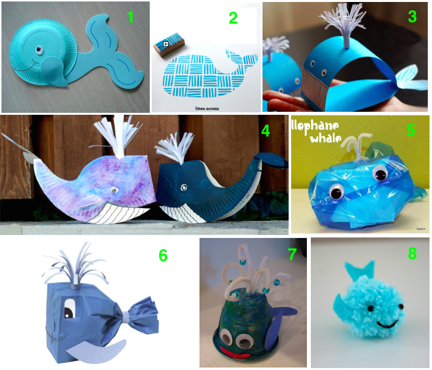 Arts And Craft Ideas For Kids Part - 40: Blue Whale Art And Craft Ideas, Kids Art And Craft, Teaching Kids  Endangered Species